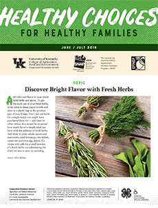 June / July 2018 Healthy Choices Newsletter English