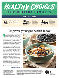 May / June 2020 Healthy Choices Newsletter English