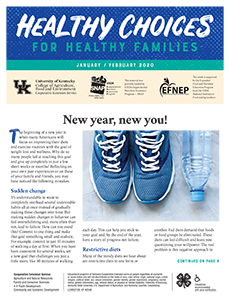 January / February 2020 Healthy Choices Newsletter English