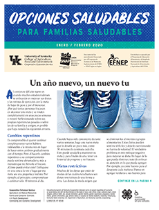January / February 2020 Healthy Choices Newsletter Spanish