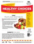 2013 October / November Healthy Choices Newsletter
