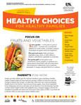 April / May 2014 Healthy Choices Newsletter