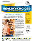 June / July 2016 Healthy Choices Newsletter