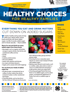 February / March 2017 Healthy Choice Newsletter