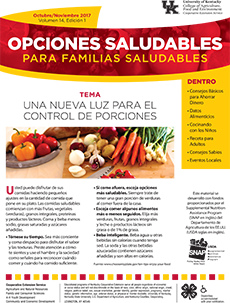 October/November 2017 Spanish Healthy Choices Newsletter